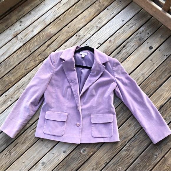 Nordstrom Jackets & Blazers - Lilac lined Blazer Jacket Nordstrom Size 10P